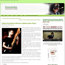 Learn The Guitar Fingerboard Thoroughly in 16 Days
