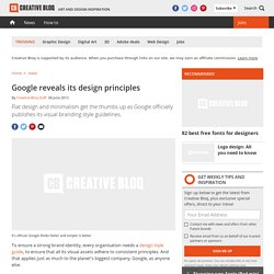 Google reveals its design principles | Branding