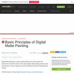 Basic Principles of Digital Matte Painting