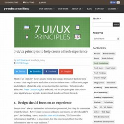 7 ui/ux principles to help create a fresh experience - Fresh Consulting