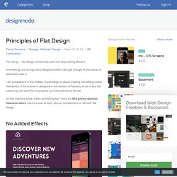 Principles of Flat Design