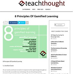 8 Principles Of Gamified Learning -
