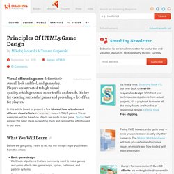 Principles Of HTML5 Game Design