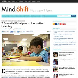 7 Essential Principles of Innovative Learning