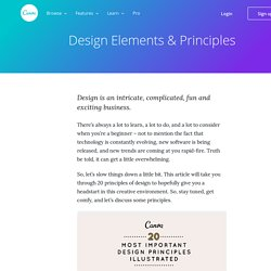 Design Elements and Principles - Tips and Inspiration By Canva – Learn