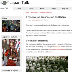 9 Principles of Japanese Art and Culture - Japan Talk