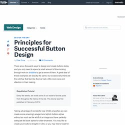 Principles for Successful Button Design