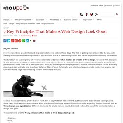 7 Key Principles That Make A Web Design Look Good