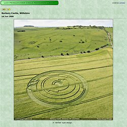 Lucy Pringle's Crop Circle Photograph Library : Barbury Castle, Wiltshire, 2008