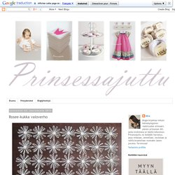 Prinsessajuttu: Rosee-kukka valoverho