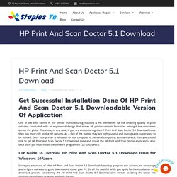 HP Print And Scan Doctor 5.1 Download