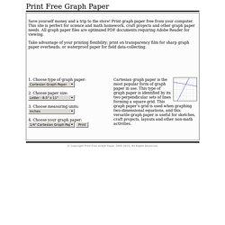 Print Free Graph Paper - Nightly