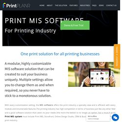 Print Broker Software