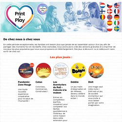 Print & Play par Asmodee