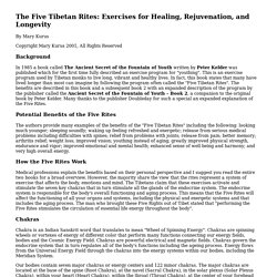 Print Version - Five Tibetan Rites