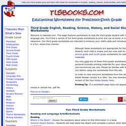 Id2830741 on Free Fourth Grade Worksheets Pearltrees