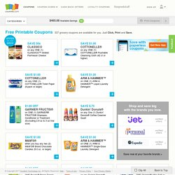 Free Printable Coupons, Online Coupons & Coupon Codes | Coupons.com