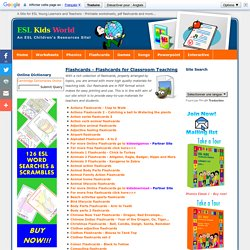 ESL Kids World - Free Printable Flashcards for Young Learners