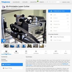 this website is for 3D printer laser cutter
