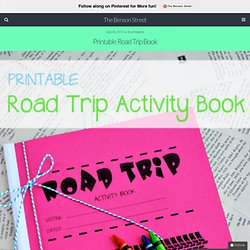 Printable Road Trip Book