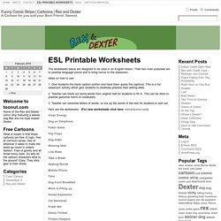 ESL Printable Worksheets