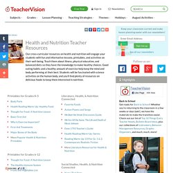 Health & Nutrition Printables & Activities (K-12
