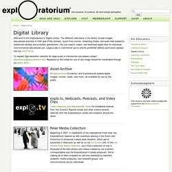 Digital Library: Photos, Video, Audio, Printables