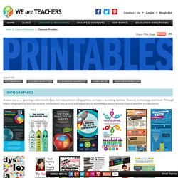Printables - Printable Classroom Resources