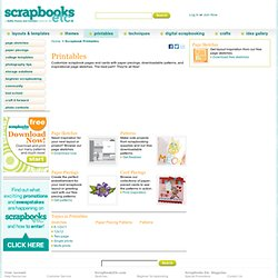 Free Scrapbook Printables - Scrapbooks Etc.