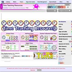 Time Teaching Resources & Printables for KS1 & KS1