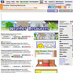 Weather Primary Teaching Resources & Printables