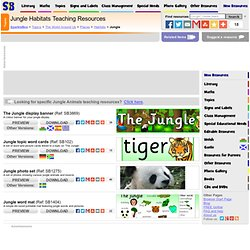 Early Years & KS1 Jungle Teaching Resources & Printables