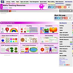 Early Years & Key Stage One (KS1) Maths Teaching Resources & Printables