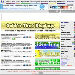 Golden Time Classroom Display Resources and Printables