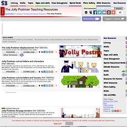 The Jolly Postman Teaching Resources & Story Sack Printables