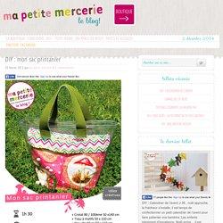 DIY : mon sac printanier - Ma petite Mercerie, le blog