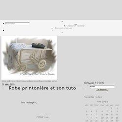 Robe printanière et son tuto - L'Atelier du Bricabrac