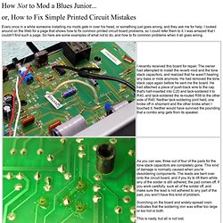 Billm -- Fixing Printed Circuit Board Problems