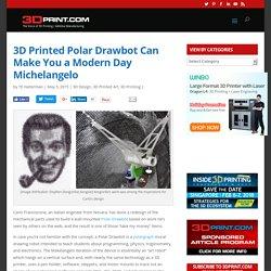 3D Printed Polar Drawbot Can Make You a Modern Day Michelangelo