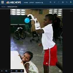 3-D Printed Hand Lets Haitian Boy Play Catch for First Time