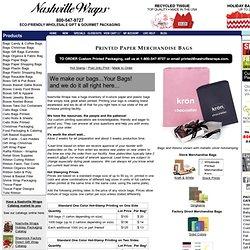Printed Paper Merchandise Bags