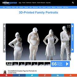 3D-Printed Family Portraits : DoubleMe3d