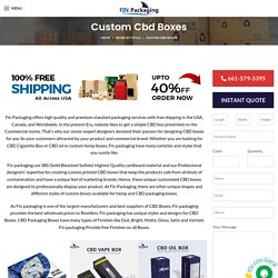 Custom Printed Cbd Boxes with free shipping