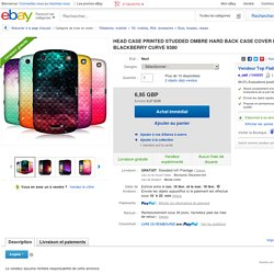 Coque Blackberry Curve 9380