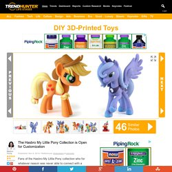 DIY 3D-Printed Toys : Hasbro My Little Pony