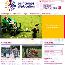 Printemps de l'éducation