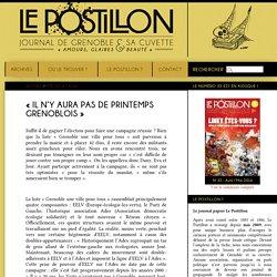 « Il n'y aura pas de printemps grenoblois » - Le site du journal Le Postillon