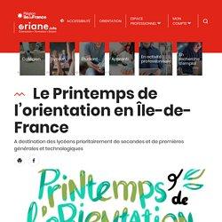 Le Printemps de l'orientation en Île-de-France