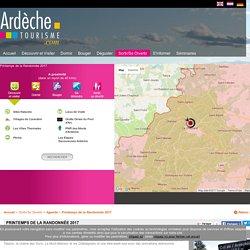 ardeche-tourisme.com Printemps de la Randonnée 2017 - Agenda - Ardèche Tourisme