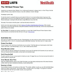 www.menshealth.com/mhlists/100-best-fitness-tips/printer.php